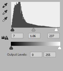 Final levels adjustment