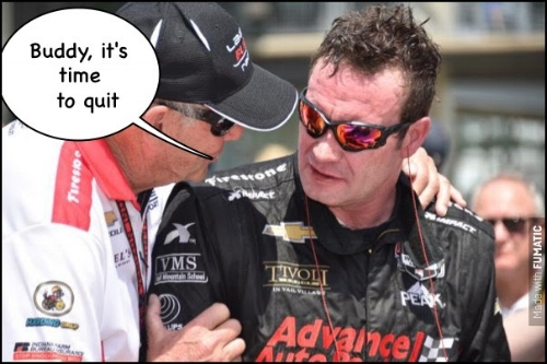 Rumor is: Buddy Lazier will not be making a run this year - haven't seen anything official but fingers crossed