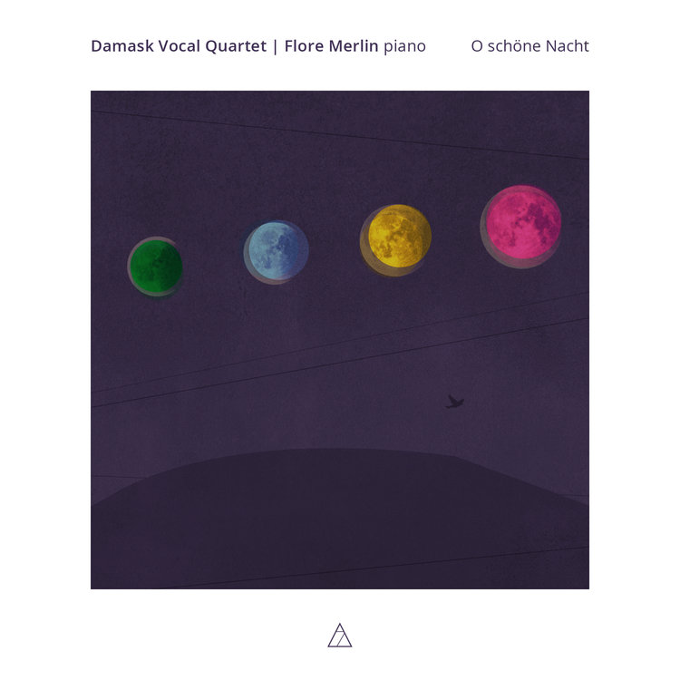 DAMASK VOCAL QUARTEt,O SCHÖNE NACHT  - 7 MOUNTAIN RECORDS, 2018