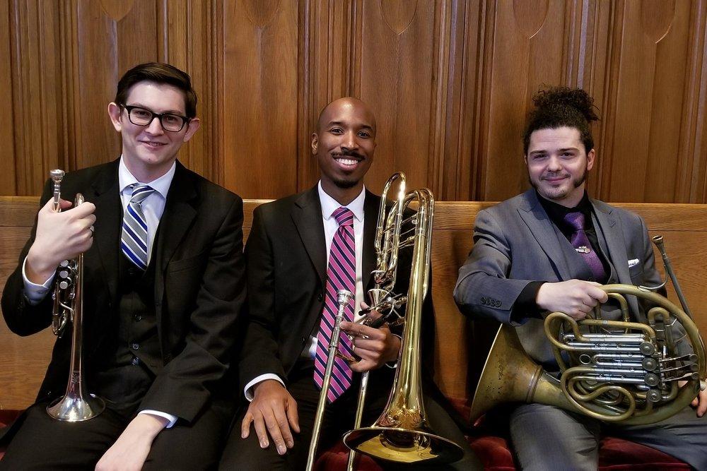 David Bernard, trumpet;Craig Freeman, trombone; Bob Lewis, horn