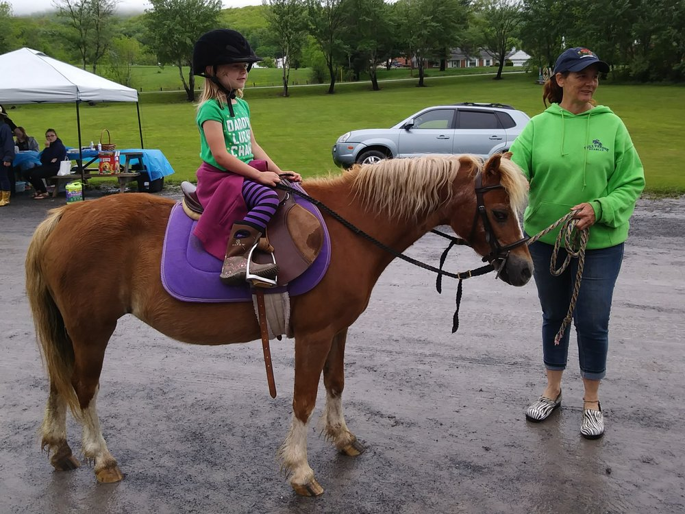 Sully Stables provides kids with pony rides! Thank you, Julie!
