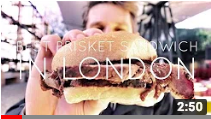 """The best beef brisket sandwich in London."""