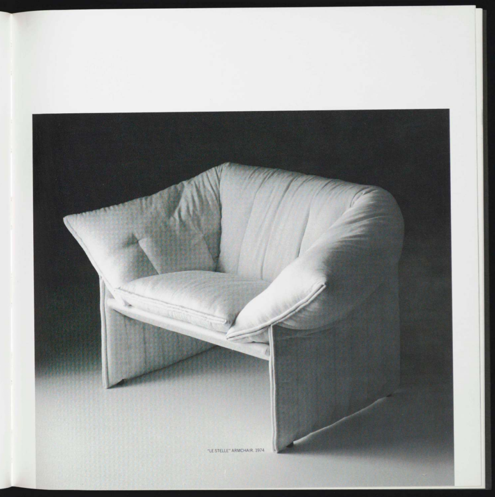 """Image —  """"Le Stelle"""" Armchair, 1974 — The Museum of Modern Art"""