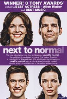 Next To Normal (Broadway) - Original Broadway Cast - Standby Gabe and HenryWINNER 3 Tony Awards