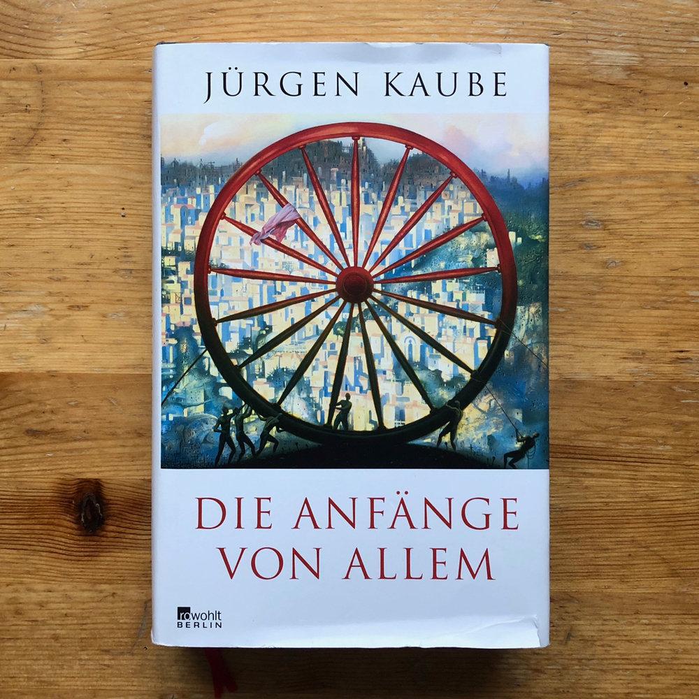 Jürgen Kaube, Die Anfänge von allem (Hamburg: Rowohlt, 2017)   Buch der Woche vom 21.01.2018