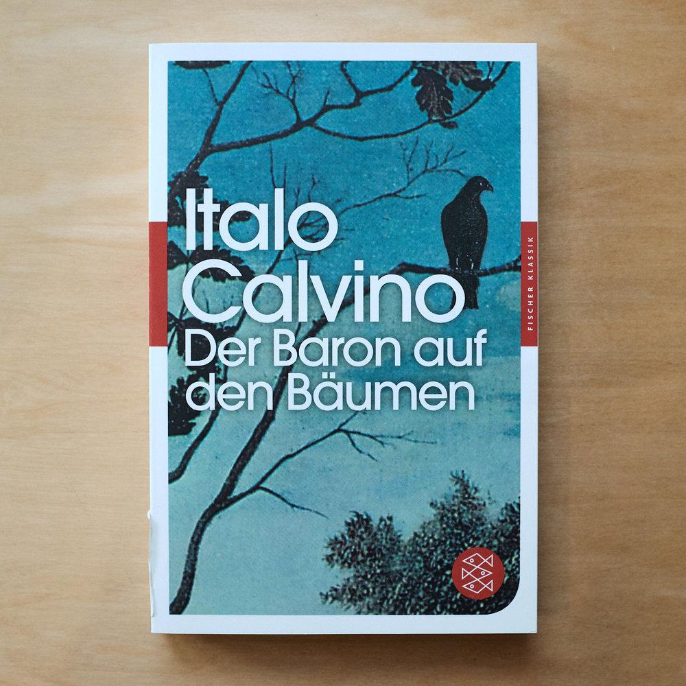 Italo Calvino,     D er Baron auf den Bäumen    (Frankfurt am Main: Fischer:1957)   Buch der Woche vom 27.05.2018