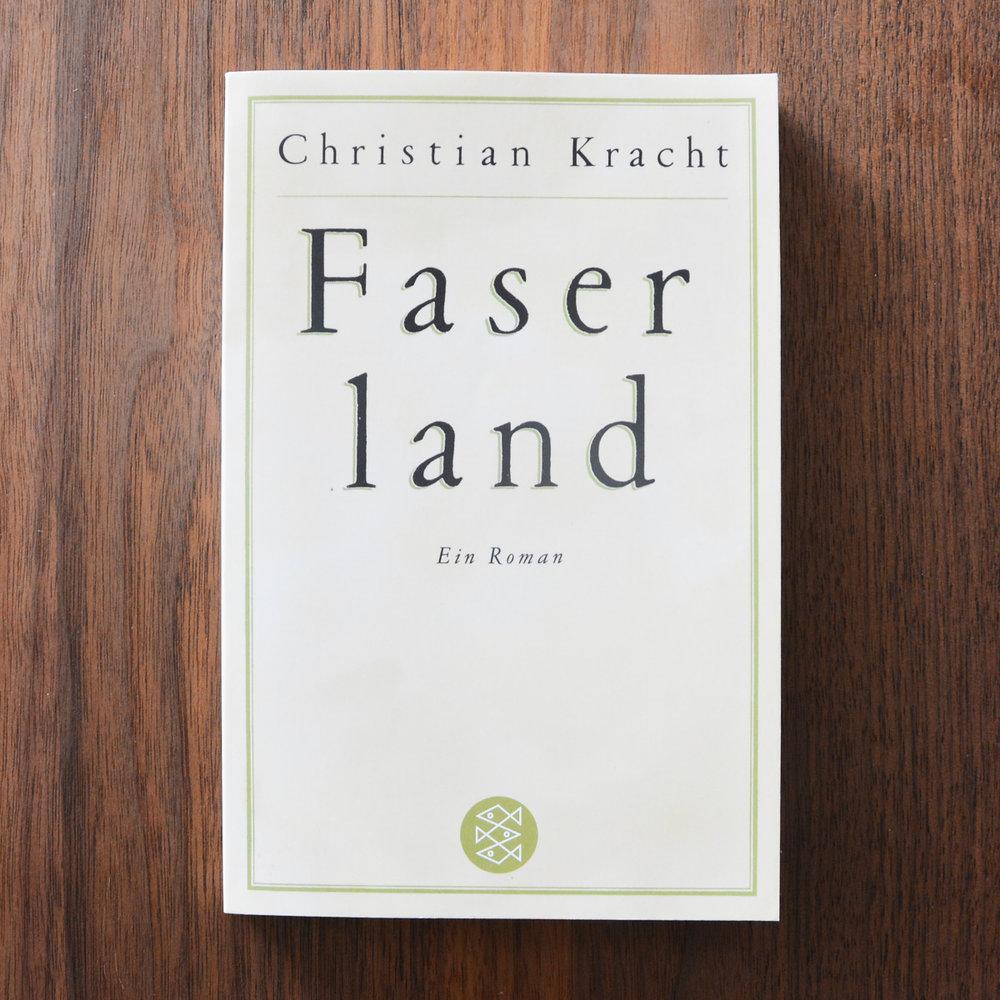 Christian Kracht,  Faserland  (Köln: KiWi, 2015 [1995])