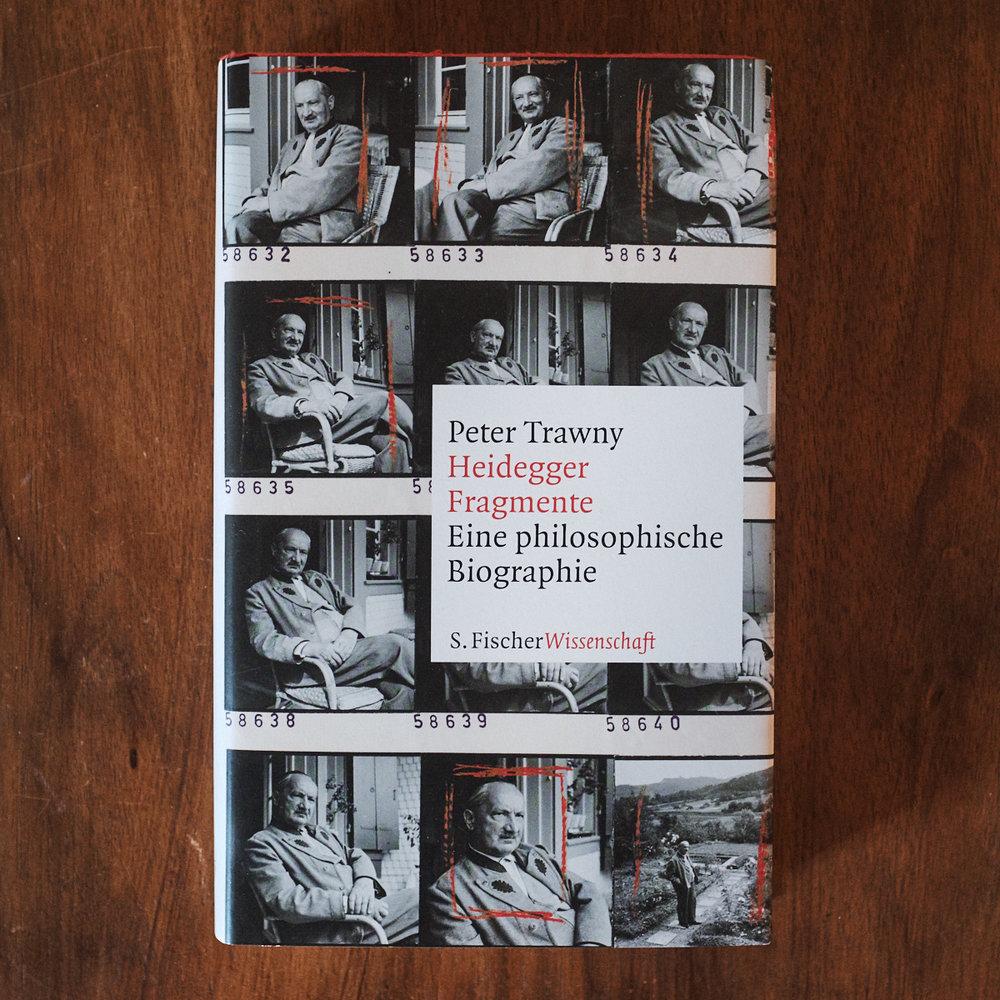 Peter Trawny,  Heidegger-Fragmente: Eine philosophische Biographie  (Frankfurt am Main: S. Fischer, 2018).