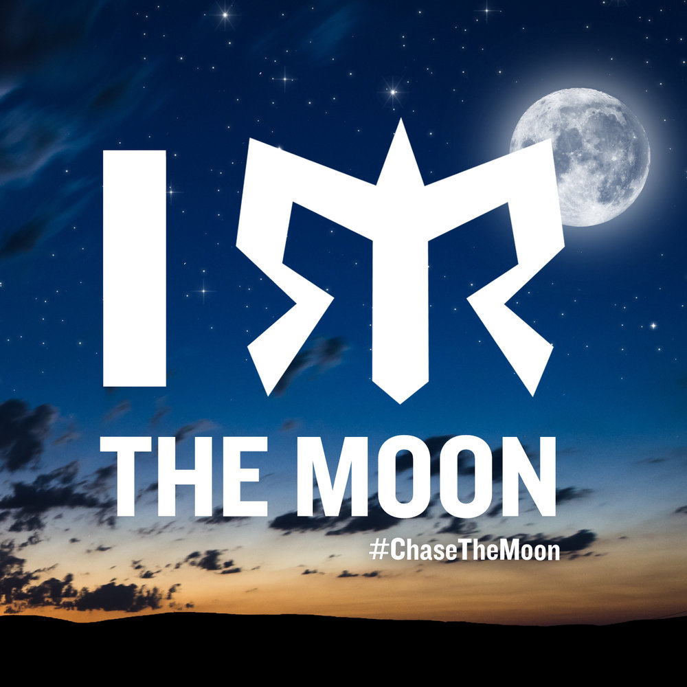 Chase The Moon Challenge - Virtual event created to inspire runners to run under a magical full moon on May 10, 2017. If 1,000 runners run 6.7 miles, collectively we'll run enough miles to circle our nearest galactic neighbor. Virtual event included a registration fee, finisher tee-shirt and medal. Event sold out in less than two days.