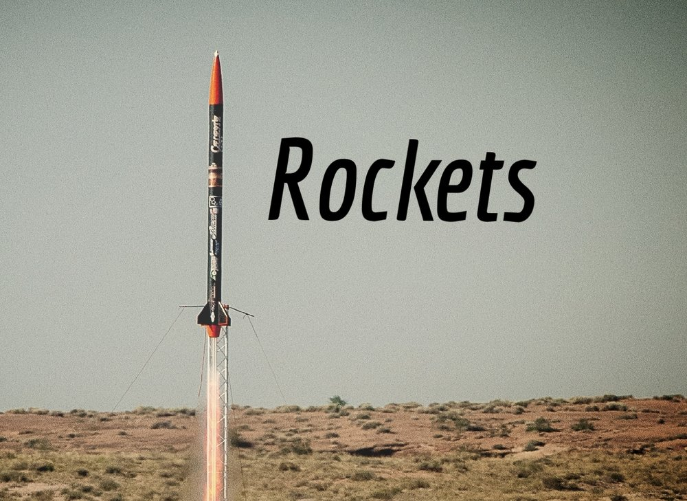 Click to learn more about   ROCKET   projects!