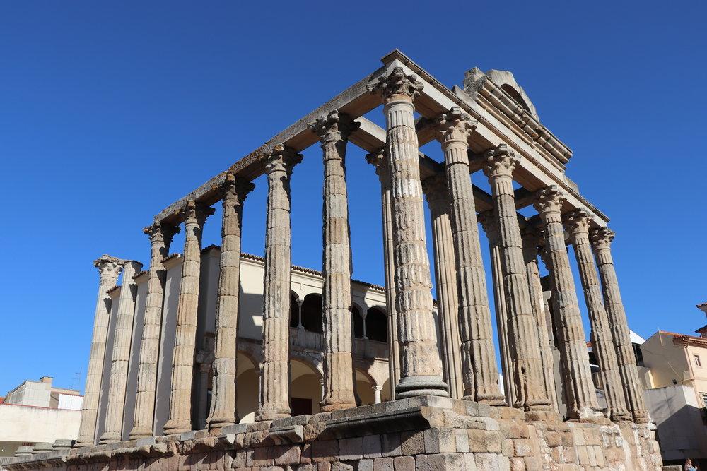 Templo de Diana / Mérida - Espanha