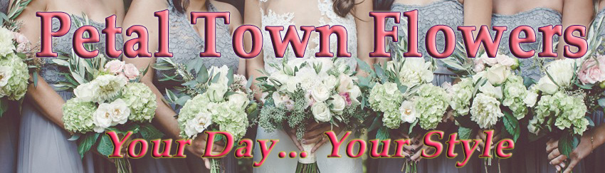 Petal Town Flowers ~ Wine Country Weddings