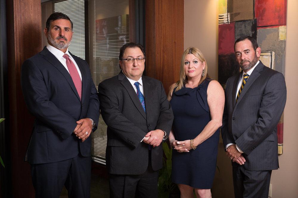 Founding Partners of Pulman, Cappuccio, & Pullen, LLP