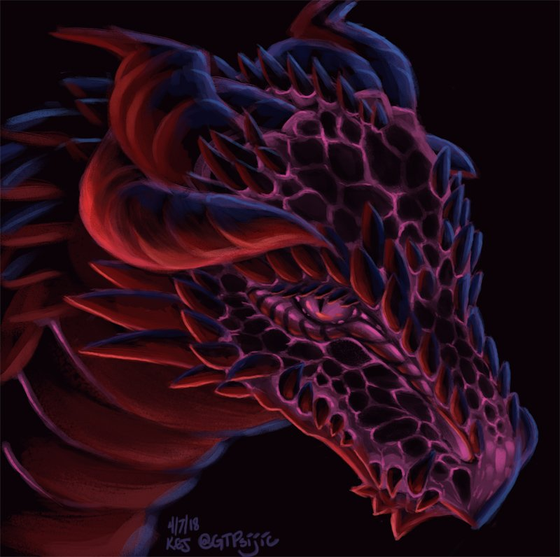 Neon Dragon by GTaichou - @GTPsijic