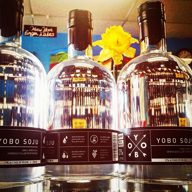 WE NOW HAVE YOBO SOJU! Come on down to Sam's Wine & Spirits  And get yourself some of that!