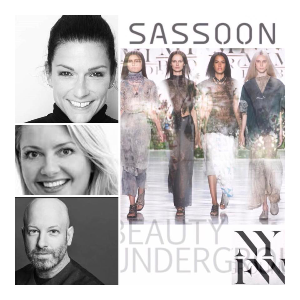 The Beauty Underground  At New York Fashion Week. Sept 6-14, 2018  We are thrilled to be partnering once again with  Traci Sakosits and Elaine Mitchell of Sassoon!   #wearethebeautyunderground