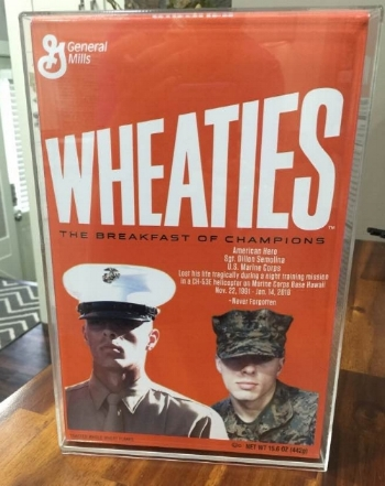 Dillon on Wheaties