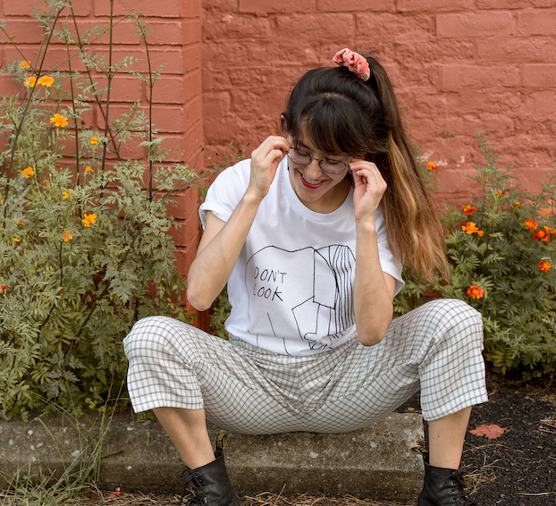 Illustrated Tee by  Paul Solis , Deadstock Pants by  Conrado