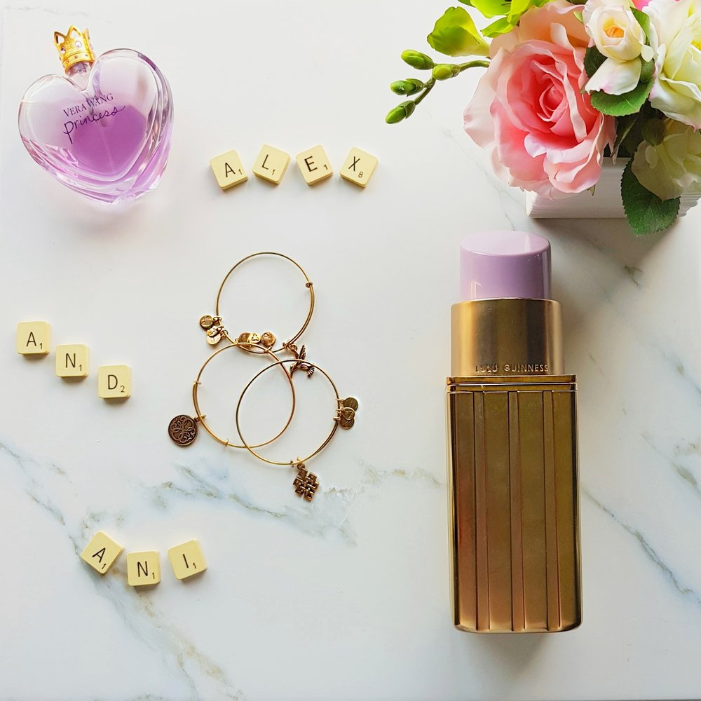Gold Lipstick Clutch |  Lulu Guinness , (similar)