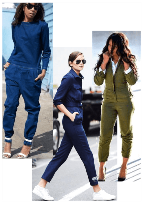 1. - The main reason to try a jumpsuit is that it is such a practical item. You can literally just throw it on without having to worry about what to wear with it. You can dress them up or down with heels or sneakers.
