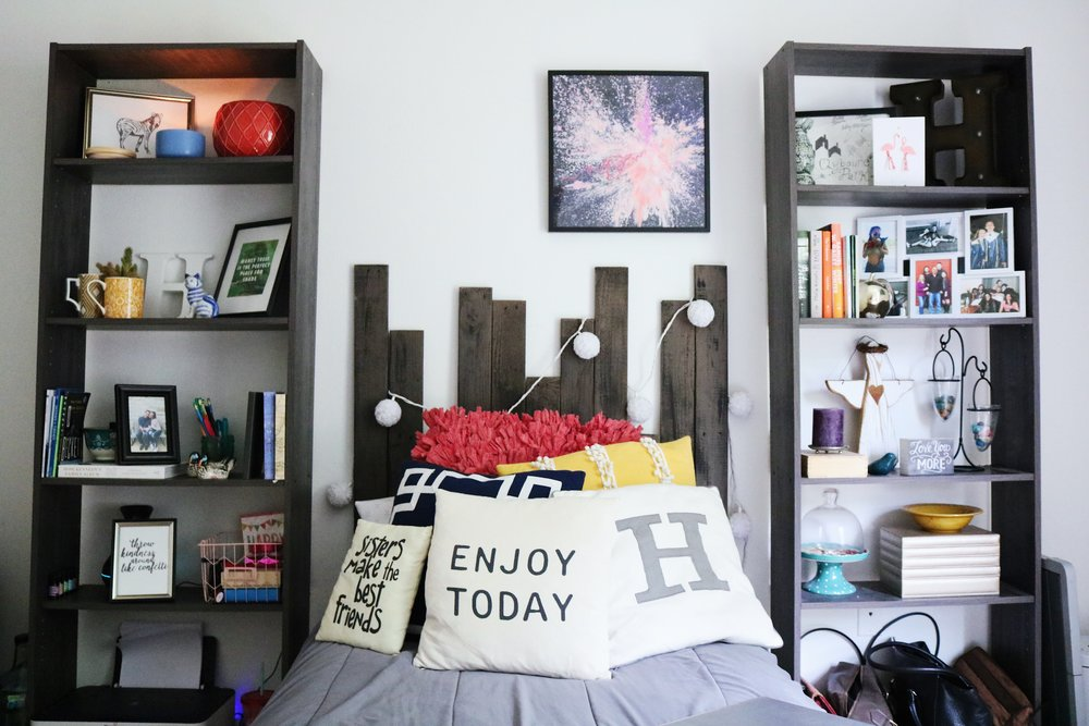 College Room Tour Cheap Decor Hacks The Beginning Of Hannah