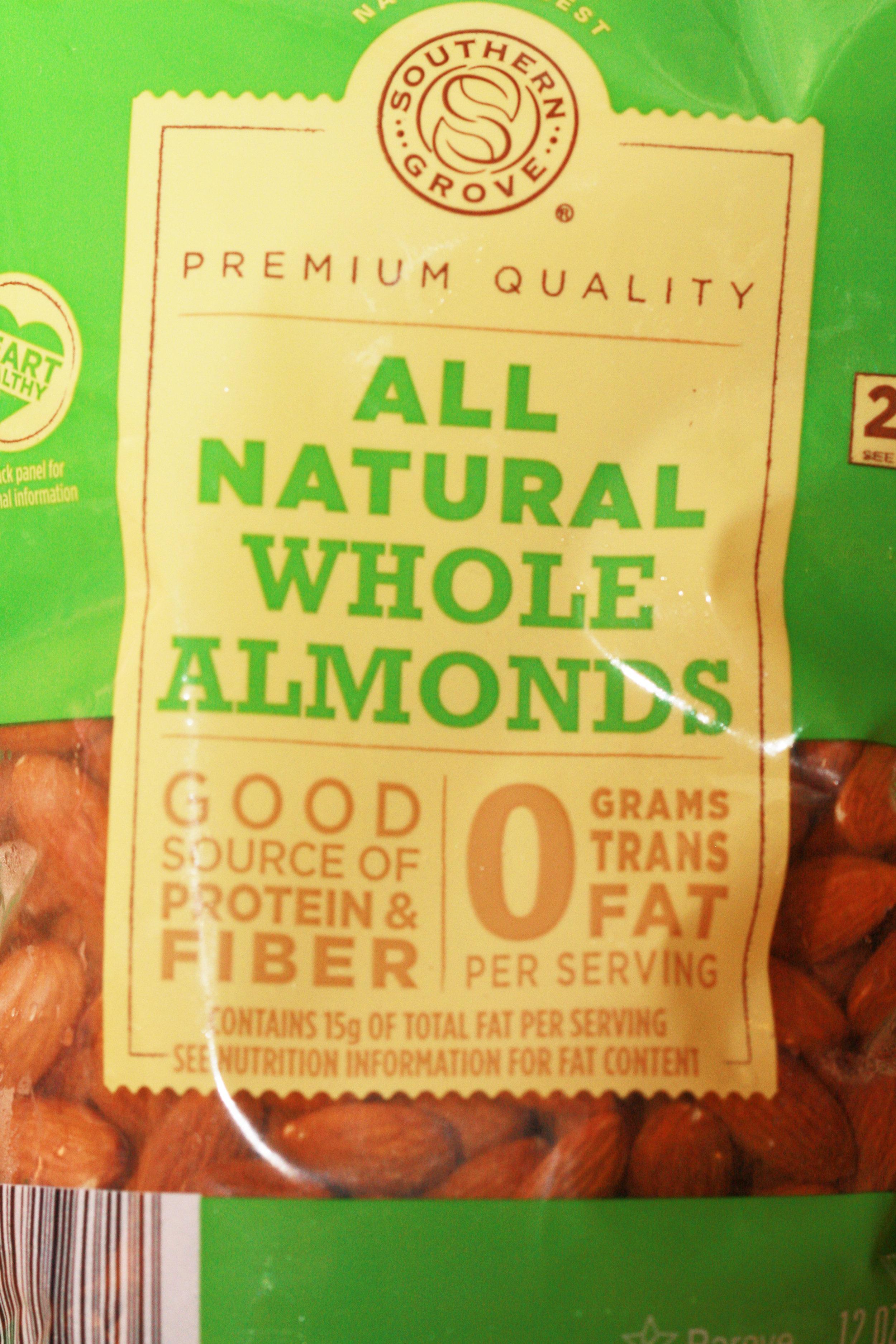 Yum! Almonds