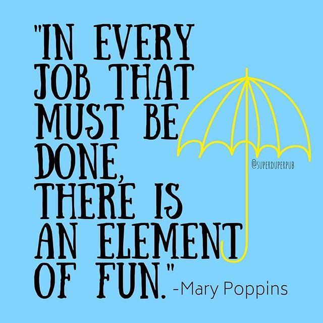 We agree😎😊!! #Repost @superduperpub #mondaymood #marypoppins #fun #job . . . . #allaboutspeechnyc #slp #CFY #CCC #slpeeps #speechpathology #speechies #speechtherapy #mom #specialneeds #autism #teachersoninstagram #ashaigers #nsslha  #slp2be #children #play #nycslp