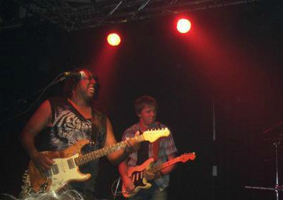Hiram Bullock - is and always will be my guitar hero No.1. sitting in with his band in 2006 is one of my most treasured memories.