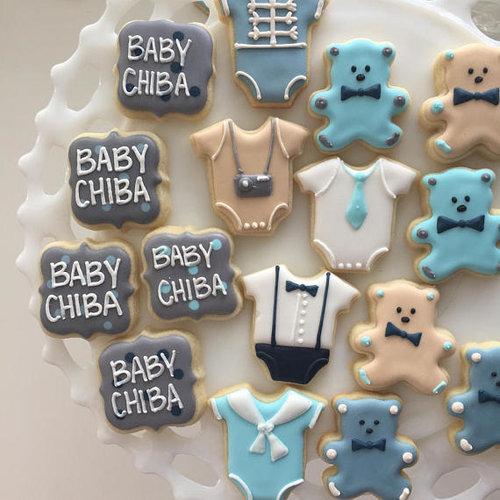 Baby Shower Cookies Cousin Cookie