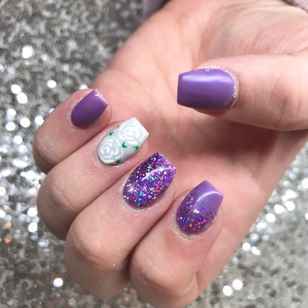 Glitter + Roses!