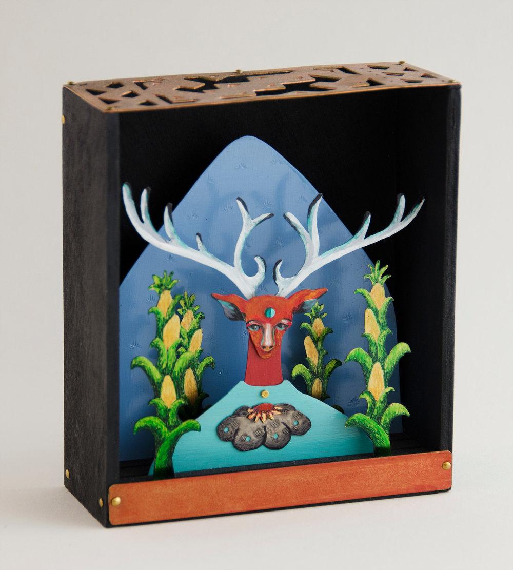 Teachings of the Deer - 5.25_ H x 5_ W x 1.75_ D   .jpg_; filename_=UTF-8''Teachings of the Deer - 5.25_ H x 5_ W x 1.75_ D   .jpg