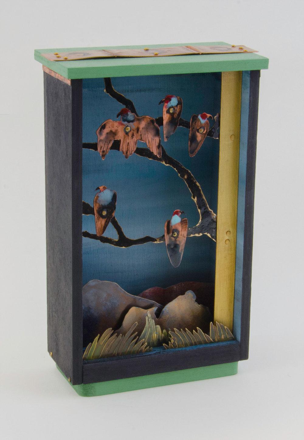 Five Vultures in a Tree - 7_ H x 3_ W x 2_D   .jpg_; filename_=UTF-8''Five Vultures in a Tree - 7_ H x 3_ W x 2_D    (1).jpg
