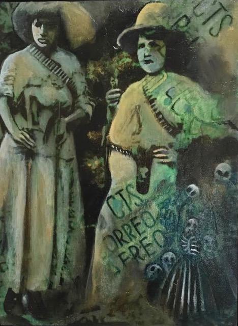 Vinatge Mexico- Acrylic and Mixed Media.jpeg