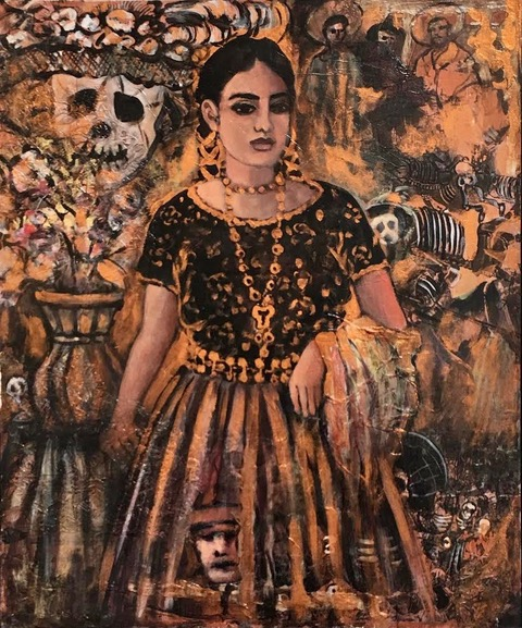 Vintage Mexico Series- Acrylic and Mixed Media.jpeg