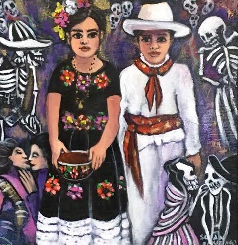 Vintage Mexico- Acrylic and Mixed Media.jpeg