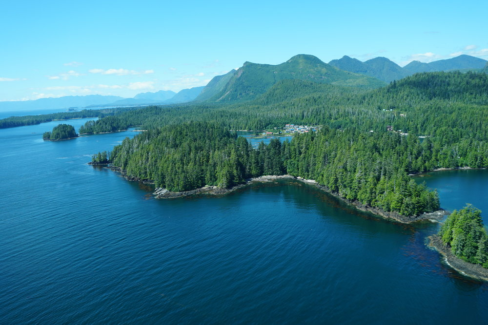 Kyuquot from above