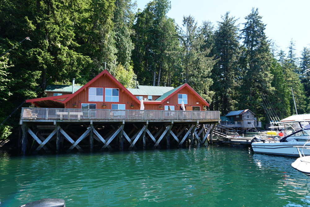 BC fishing lodge where to fish in BC