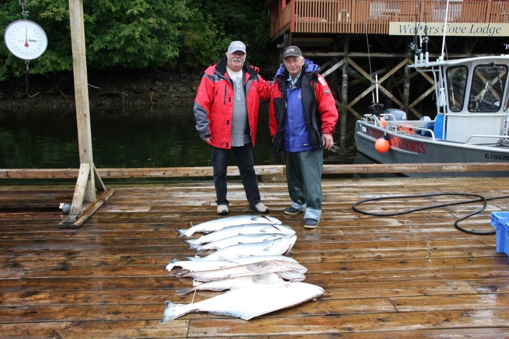 Salmon and Halibut fishing lodge