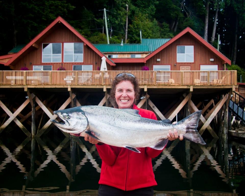 Chinook Salmon BC Fishing