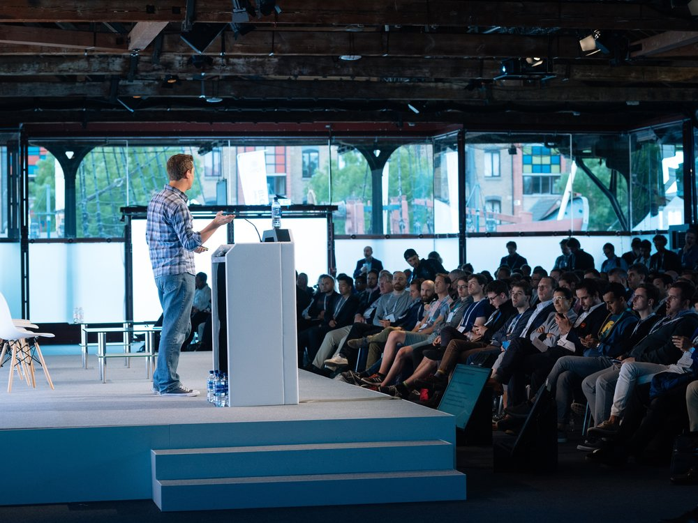 Blockchain StageatCogX 2018 - - London - We hosted technologists & entrepreneurs to discuss decentralised data networks