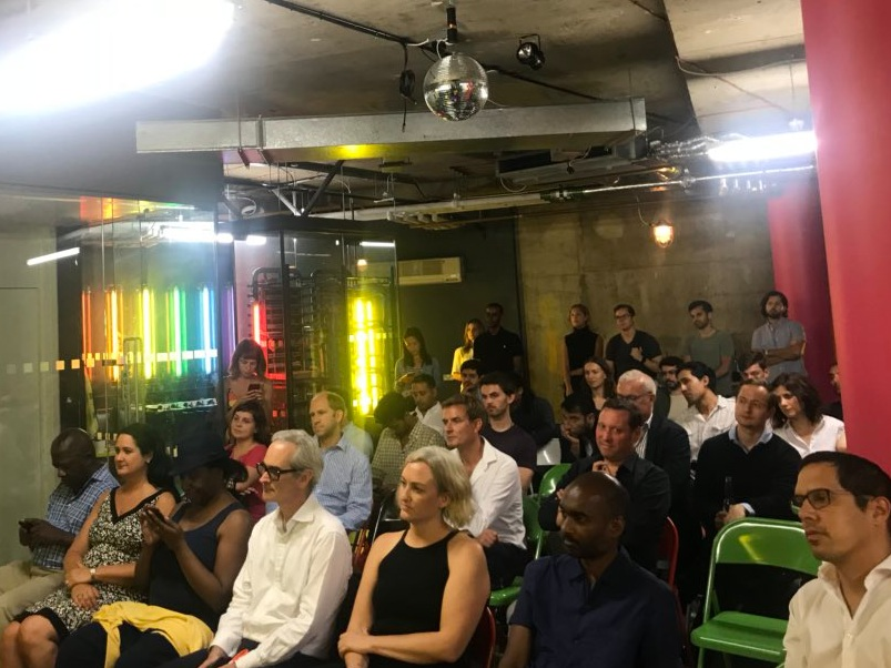 Fabric x The Block Meetup - - London -Fireside chat with Mike Dudas & Richard Muirhead discussing the London ecosystem
