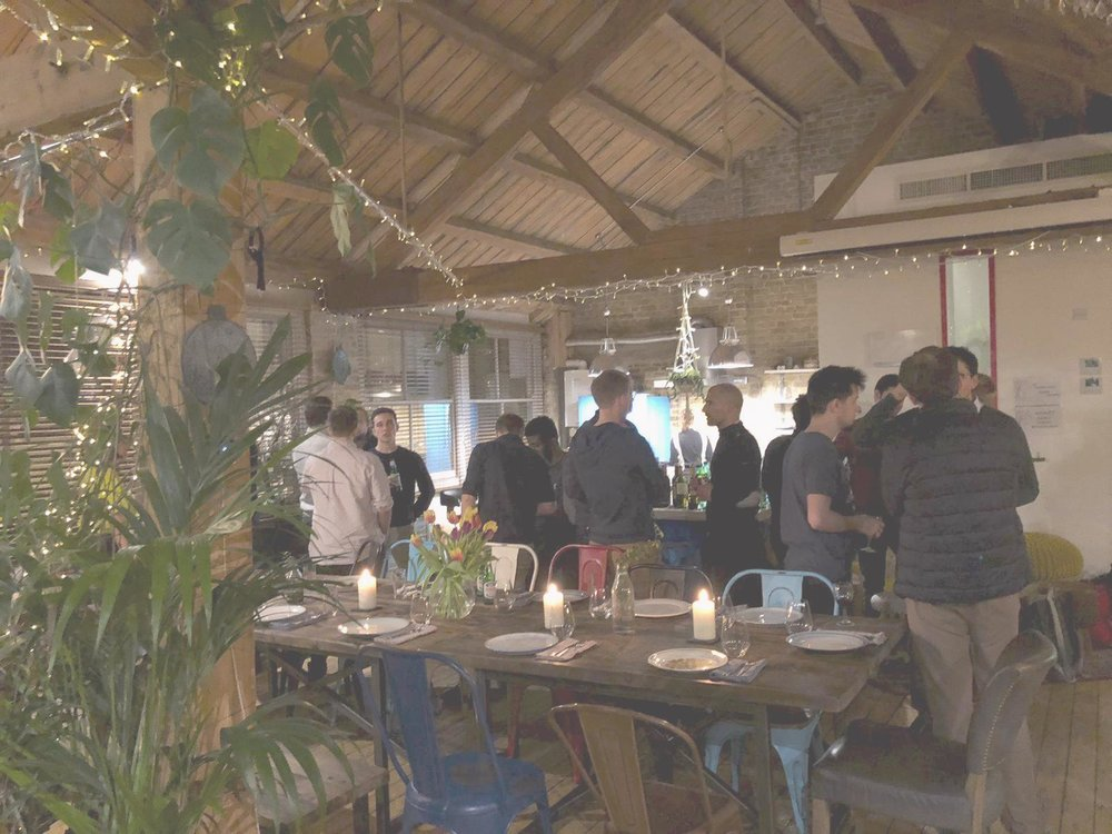 Human Fabric Dinner - - London   12th Feb -Connecting engineers, developers & other talented individuals looking for their next adventure.