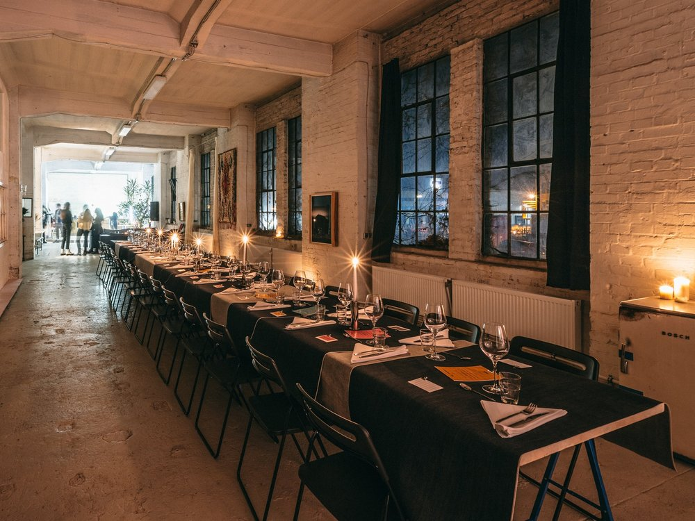 Human Fabric Dinner - - Berlin | 25th Feb -Connecting engineers, developers & other talented individuals looking for their next adventure.