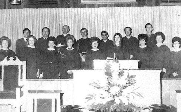 Sharon Forest Adult Choir 1972