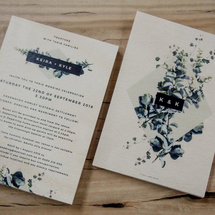 CUSTOM invitations -