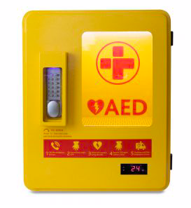 Heated Outdoor AED Cabinet - £495 (exc VAT)