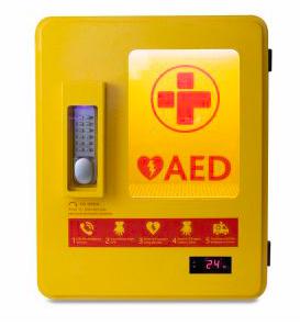 Heated Outdoor AED Cabinet - £495 (exc VAT)