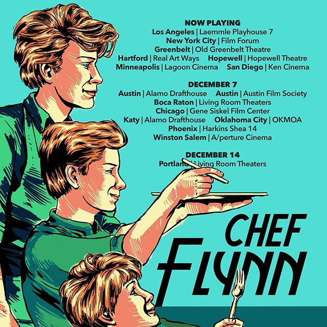 Our march across the country continues! #ChefFlynnFilm opens this weekend in San Diego, Minneapolis, Hartford & more. Tickets at the link in our bio.