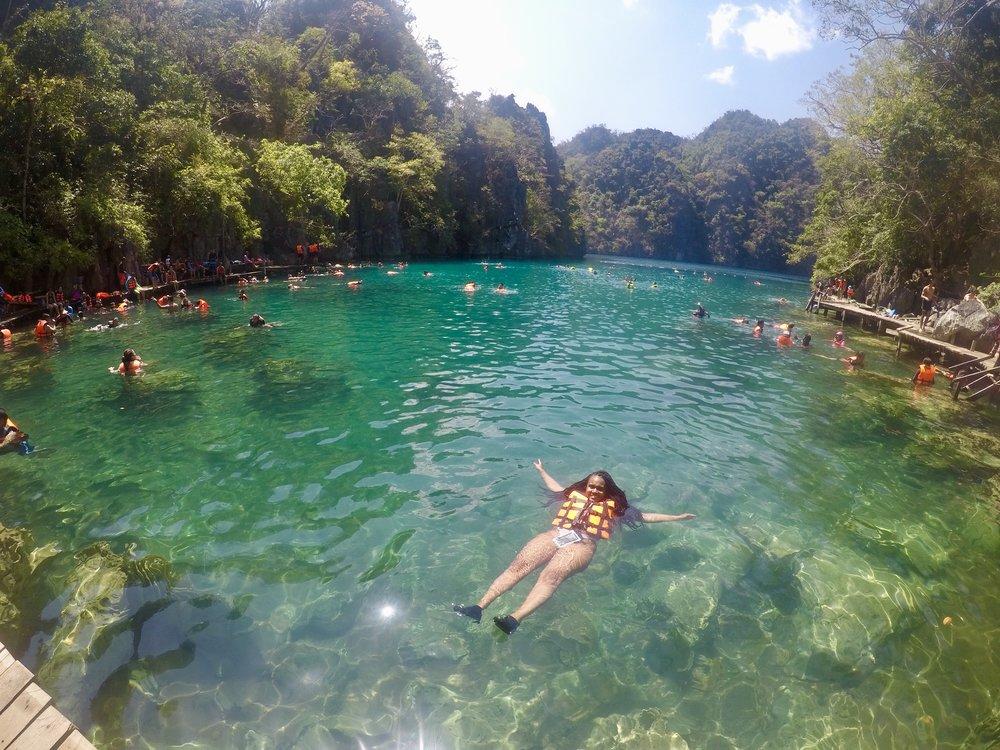 Kayagan Lake swim.jpg