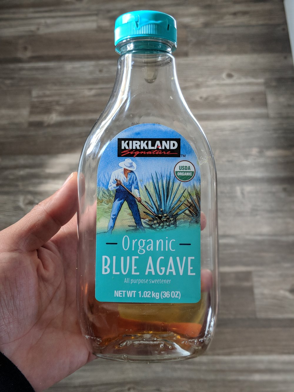 Agave Syrup - You can put it in your tea and use for any sauce that needs to be sweetened, like Thai peanut sauce.